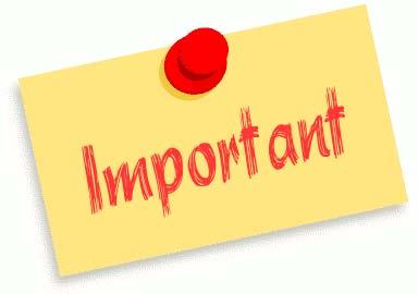 IMPORTANT : modification horaires entraînement
